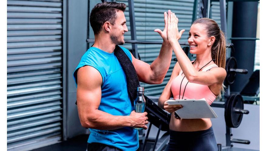 Вызов клиентом инструктора по фитнесу