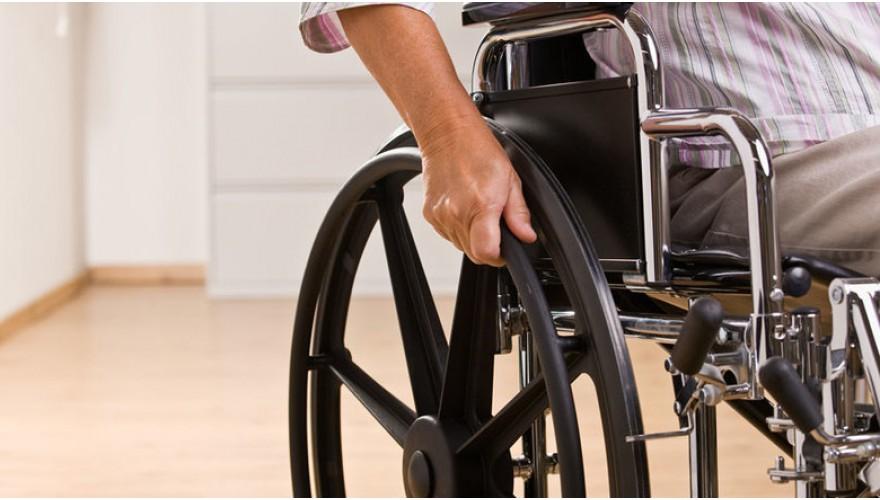 Вызов инвалидом сотрудника перед входом