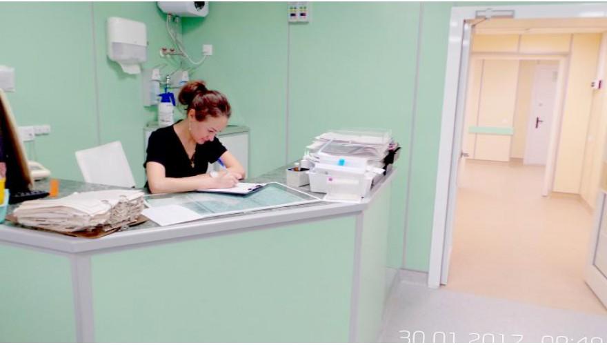 Вызов врача на пост медсестры (или ординаторскую)
