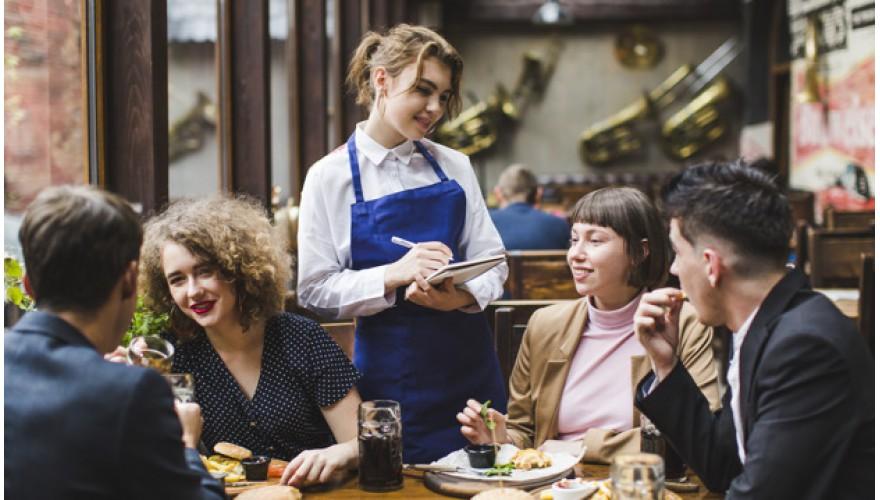 Вызов официанта гостем ресторана или кафе. Способ №2.