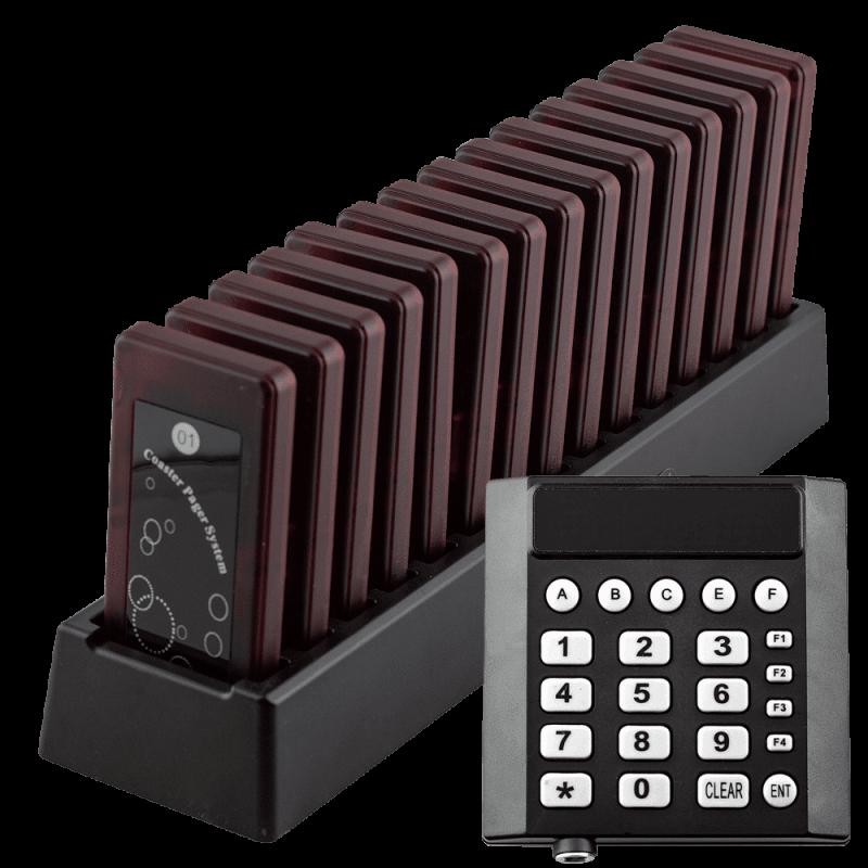 Система оповещения клиентов K-TP15-W