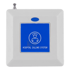Кнопка вызова K-CH1-W-BL